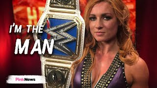 WWE's Becky Lynch: I'm the man in wrestling