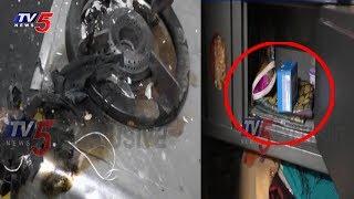 నగదు ఎత్తుకెళ్తు ఇళ్లకు నిప్పంటిస్తున్న దొంగ | Maripeda, Mahabubabad
