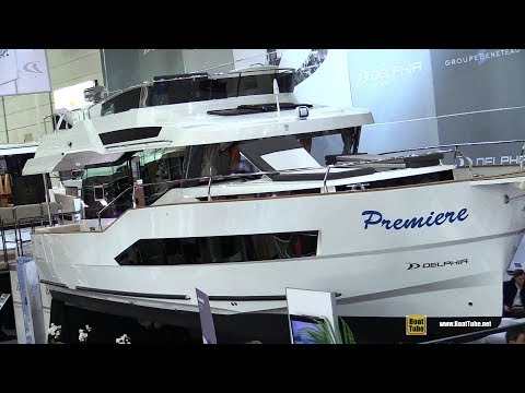 2019 Delphia Bluescape 1200 Fly Motor Yacht - Walkaround - Debut at 2019 Boot Dusseldorf