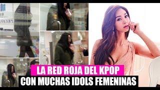 LA LINEA ROJA DEL KPOP CON MUCHAS  IDOLS FEMENINAS  - [OtitoMola]