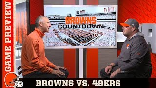 Freddie Kitchens Previews 49ers Matchup & Unpredictable Offense | Browns Countdown