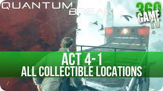 Quantum Break Act 4-1 Collectibles Locations (Port Donnelly Bridge)