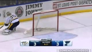 Big hit on Pekka Rinne 13/11/2014