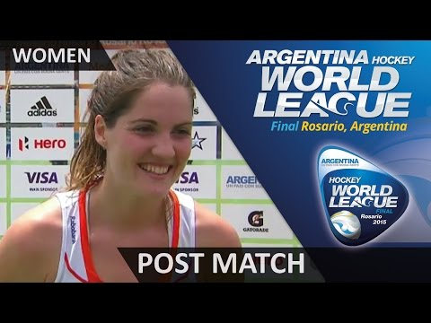 Marloes Keetels Post Match Interview #HWL2015 #Rosario