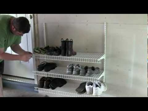 DIY Shoe Rack - YouTube
