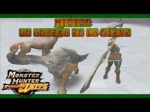 Monster Hunter Freedom Unite - Ep.4 - Un Anteka en la nieve