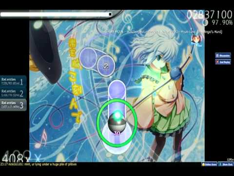 osu! Yellow Zebra - Prism Love (D.N.Angel's Hard)+Double Time