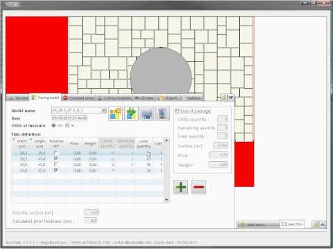 AutoDalle -  Paving pattern generator
