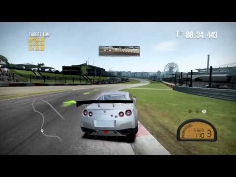 NFS Shift 2  Gameplay on GT 430 HD