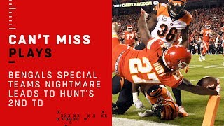 Bengals Special Teams Nightmare Leads to Hunt