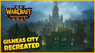 Gilneas City Recreated In WC3 Reforged! | Warcraft 3 Reforged