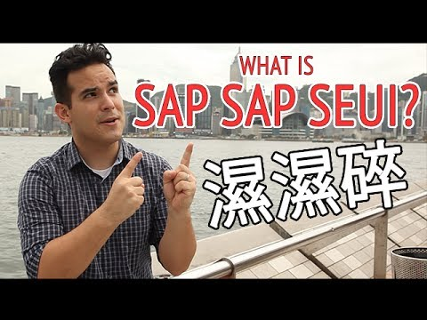 What is SAP SAP SEUI 濕濕碎 ?? - Learn Cantonese Slang with Carlos