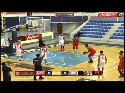 Pilipinas MX3 Kings vs. Saigon Heat - Full Game - 2015-2016 ASEAN Basketball League