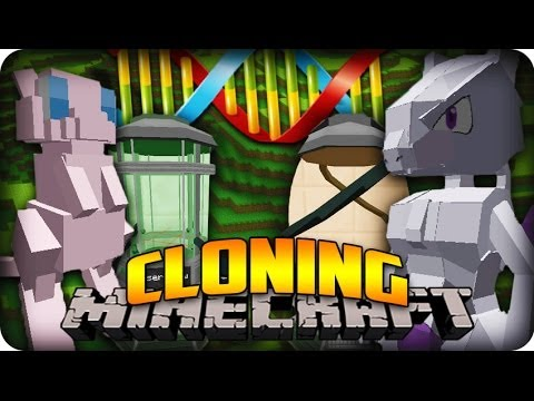 Minecraft Pixelmon 3.0 Update (1.6.4) - CLONING AND HOW TO GET MEWTWO showcase!