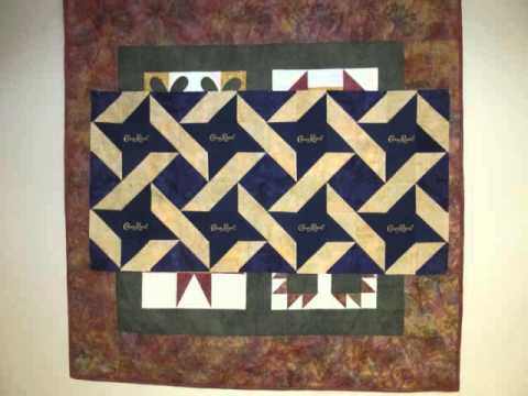 Galerry crown royal quilt pattern
