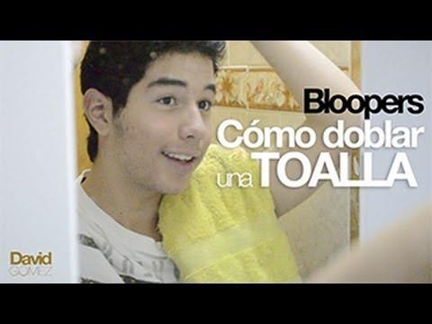 Blooper: Tutorial cómo doblar una toalla