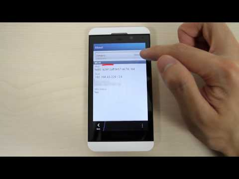 How to customize the ringtone by Wi-Fi on BlackBerry Z10