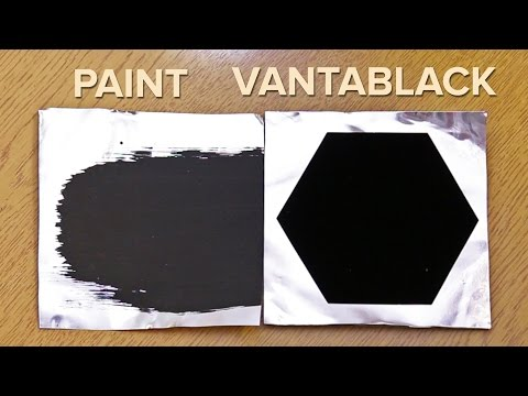 The World's Blackest Material - An Inside Look At Vantablack