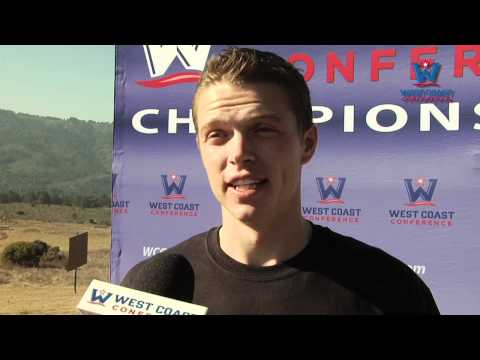BYU's Miles Batty, 2011 WCC Cross Country Individual Champion