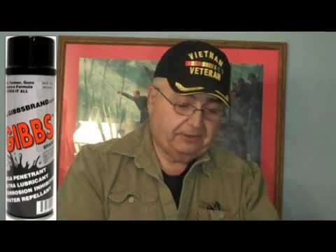 Gun Cleaning with Gibbs Lubricant by FirearmPop