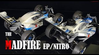 Exceed RC 1/8th MadFire Electric & Nitro Buggy Overview