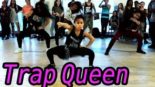 TRAP QUEEN - Fetty Wap Dance | @MattSteffanina Choreography ft 9 y/o Asia Monet! #DanceOnTrap