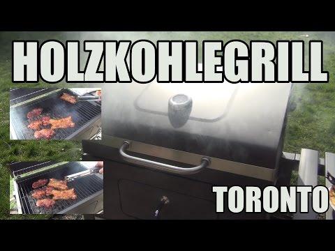 HOLZKOHLEGRILL Toronto TEST ▶︎ Der Grill Ist Der Hammer