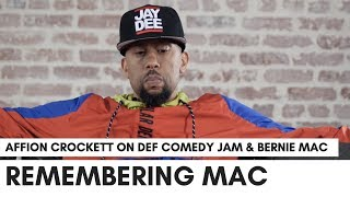"Affion Crockett On Last Movie With Bernie Mac: ""He Wasn't A Soft Dude"" (Def Comedy Jam Story)"