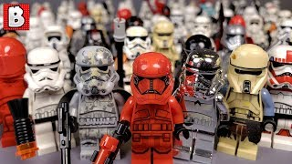 Every Lego Stormtrooper Minifigure Ever Made!!!  | Collection Review 2019 Update