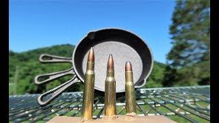 30-30 vs 308 vs 30-06 - Cast Iron Skillets