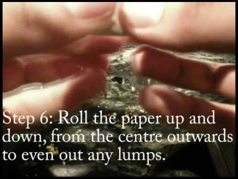 Weed Lessons: How to roll a