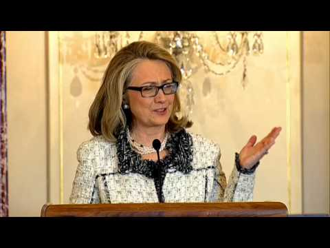 Secretary Clinton Delivers Remarks on the Department of States Public/Private Partnerships