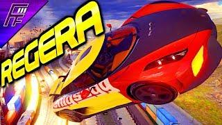 FASTEST CAR IN THE GAME!! Koenigsegg Regera (4* Rank 4176) Multiplayer in Asphalt 9