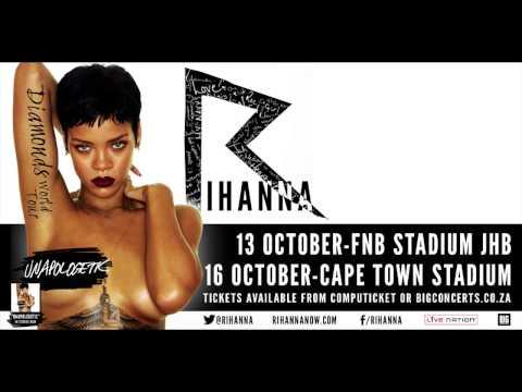 Rihanna Cape Town Radio Teaser