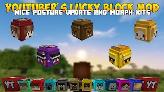 Youtubers Lucky Block | 2.0 | Froge | Minecraft 1.8.9