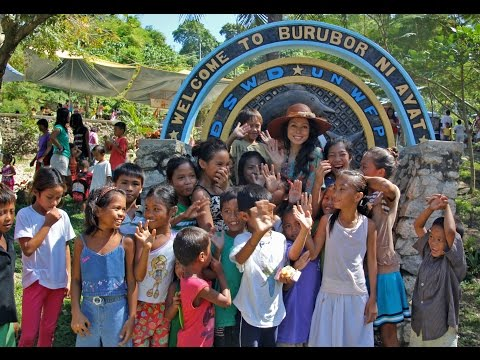 Rachel Grant & the Fountain of Love School in Bani, Pangasinan Philippines.