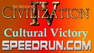 Sid Meier's Civilization IV Cultural Victory Speedrun (Duel Category) in 23:09.80