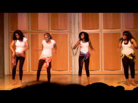 UC Merced African Culture Night Girls Dance
