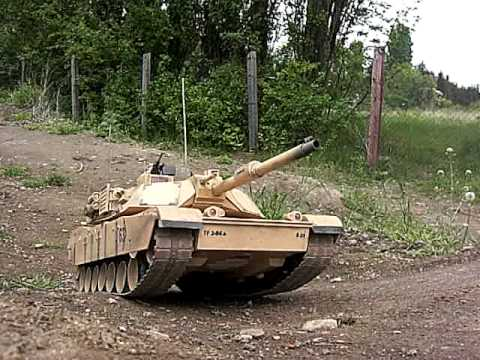 RC Tank M1-Abrams 1/16 Graupner RC- Tank Iraqi freedom edition 1