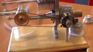 stirling engine-gama,moteur Stirling ,stirling motor,
