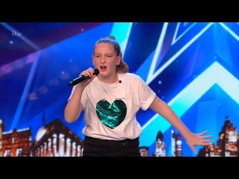 Download Britain's Got Talent 2019 10 Year Old Singer Giorgia Borg Wows The Audience Full Audition S13E04 Mp4 baru