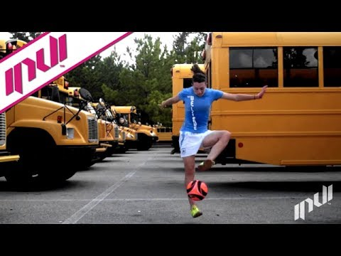 Flashback Friday: School Bus Soccer Freestyle video