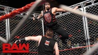 Roman Reigns vs. Kevin Owens – Käfigmatch: Raw, 19. September 2016