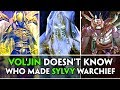 Asking the Lich King, Bwonsamdi and Eyir about who told Vol'jin to Make Sylvanas Warchief (WOW BFA )
