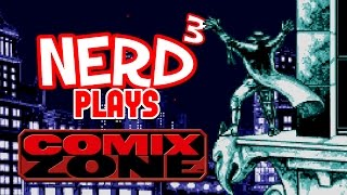 Nerd³ Plays... Comix Zone - The Page Master