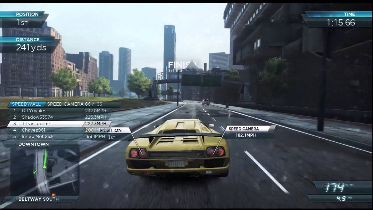 need for speed most wanted 2012 xbox 360 lamborghini diablo sv gameplay. Black Bedroom Furniture Sets. Home Design Ideas