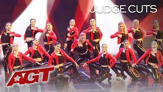 Female Malambo Group Revolution Plays Drums With FIRE! - America's Got Talent 2019