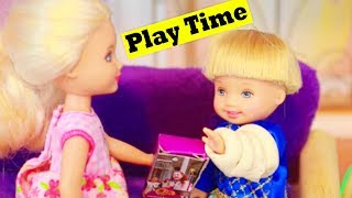 Barbie Sister Chelsea Playtime With Toby Story