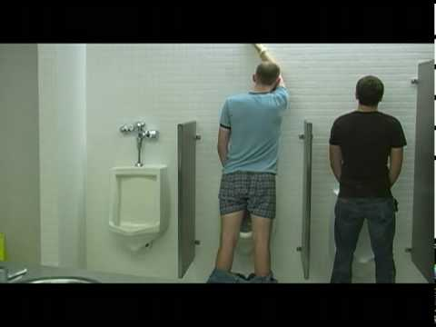 Breaking Urinal Etiquette - The Elegant Gentlemen