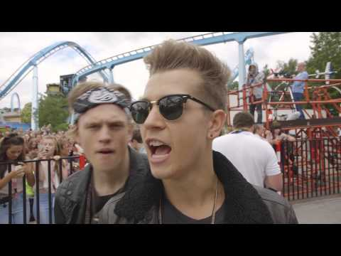 Somebody To You - The Vamps (Single Promo Week, Drayton Manor)